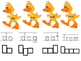 Duck Theme Kindergarten Sight Words