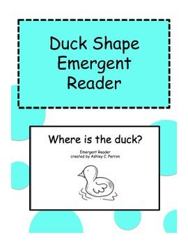 Duck Theme Shape Emergent Reader