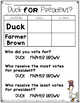Duck for President-Literacy Ideas and activities