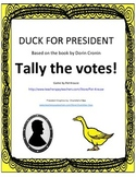 Duck for President - TALLY THE VOTES!