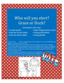 Duck or Grace for President?