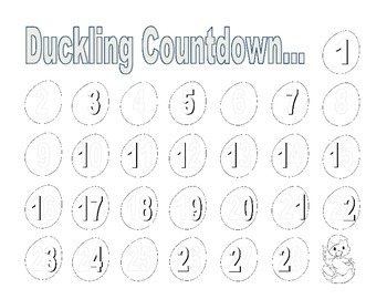 Duckling countdown to Hatch
