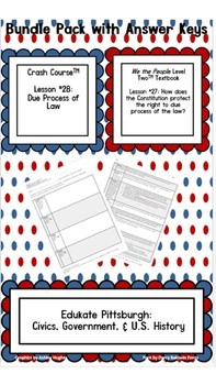 Due Process of Law Bundle Pack: We the People textbook and