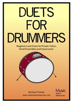 Duets for Drummers - Easy duets for any size group
