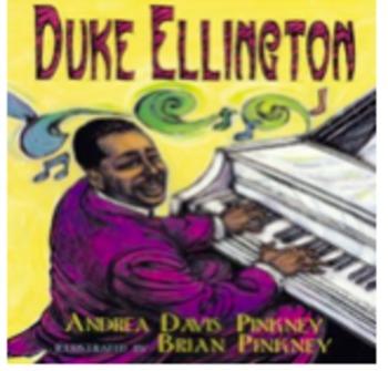 Duke Ellington Book Listening Activity for Non-Music Sub