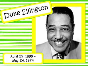 Duke Ellington: Musician in the Spotlight