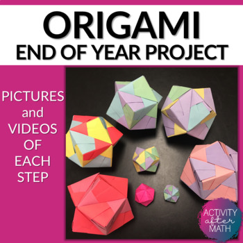 Duo dodecahedron 3-D Origami Step-by-Step Instructions! En