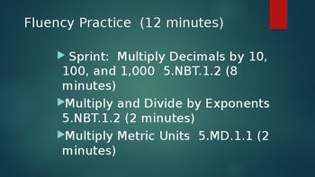 Duval Math, Engage NY, Eureka Math Grade 5 Module 1 Lesson 5