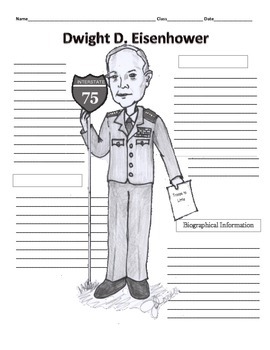 34th President - Dwight D. Eisenhower Graphic Organizer