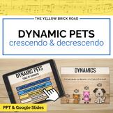Dynamic Pets: Crescendo & Decrescendo