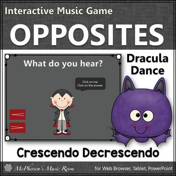 Dynamics Interactive Music Game - crescendo and decrescend