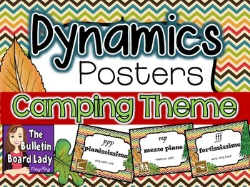 Dynamics Posters - Camping Theme