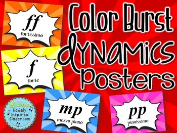 Dynamics Posters - Color Burst