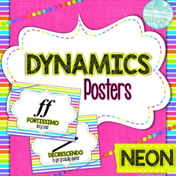 Dynamics Posters: Neon