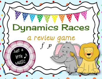 Dynamics Races -- a review game to practice volume in music