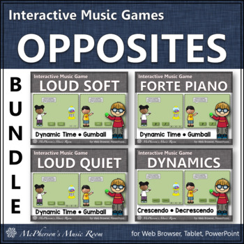 Dynamics Time Bundle - Interactive Music Games (gumball)