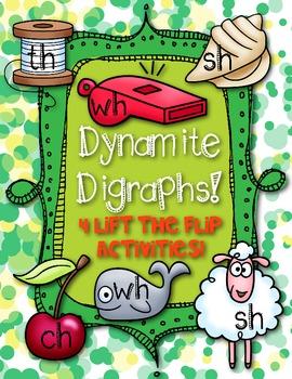 Dynamite Digraphs! {CH * SH * TH * WH}  Lift the Flap Fun