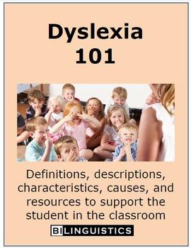 Dyslexia 101: Factsheet