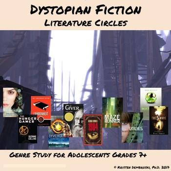 Dystopian Fiction Literature Circles Unit Reading & Writin