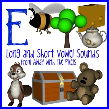 E - Long and Short Vowel Clip Art - Large High Quality Cli