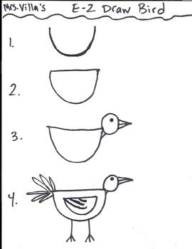 E-Z Draw Bird