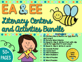 EA and EE Centers and Activities Bundle