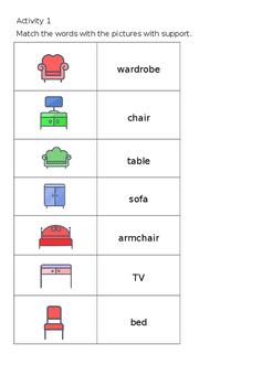 EAL Literacy Topic 14 - Furniture