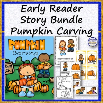 EARLY READER BUNDLE Carving Pumpkins