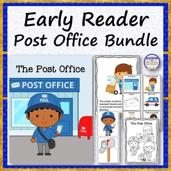 EARLY READER STORY BUNDLE Post Office