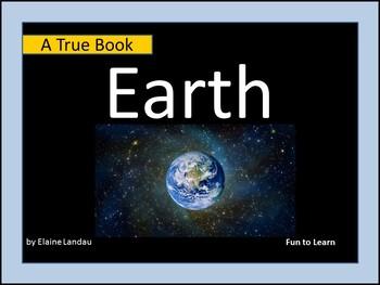 "EARTH   ""A True Book"" series"