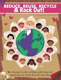 EARTH DAY CD PLUS E-BOOK OF 10 RECYCLED MUSICAL ACTIVITIES