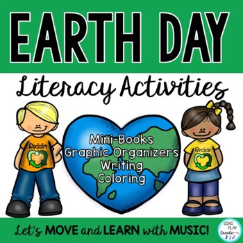 Freebie: Earth Day Writing Activity: Mini-Book and writing pages