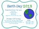 EARTH DAY GRADE 5 COMMON CORE MATH TASK CARDS
