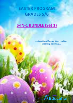 EASTER  5-IN-1 BUNDLE (Set 1) - Grades 5&6