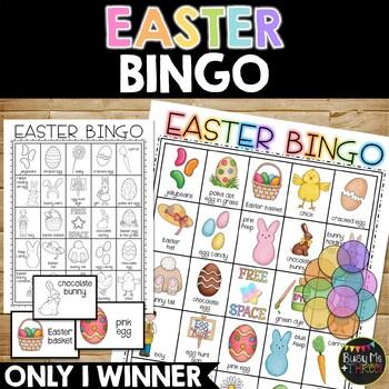 EASTER BINGO {25 Different Bingo Cards}