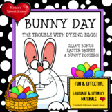 EASTER BUNNY BOOK with GIANT POSTERS Pre-K Speech Therapy