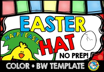 EASTER CRAFT: EASTER HAT TEMPLATES: HOLIDAY CRAFTS{HATCHIN