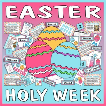 EASTER HOLY WEEK TEACHING RESOURCES EYFS KS 1-2 CHRISTIAN