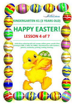 EASTER - Lesson 4 of 7 - Kindergarten 1 (3 Years Old)