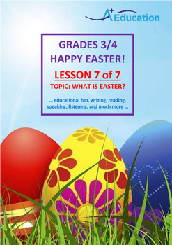 EASTER - Lesson 7 of 7 - Grades 3&4