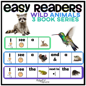 EASY READER I see...Wild Animal Edition Adapted Book Speci