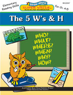 The 5 W's and H (Grades 4-5)