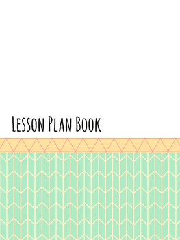 ECSE and Special Education Teacher Binder/Lesson Plan Book