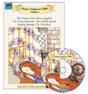 Children's Classic Tales Volume 1 (MP3/Enhanced eBook Bundle)