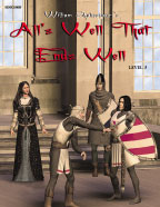 Easy Reading Shakespeare: All's Well That Ends Well (Grade