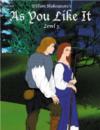 Easy Reading Shakespeare: As You Like It (Grade 3 Reading