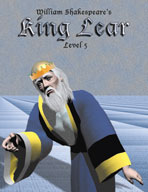 Easy Reading Shakespeare: King Lear (Grade 5 Reading Level