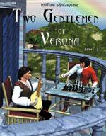Easy Reading Shakespeare: Two Gentlemen of Verona (Grade 3