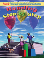 Reading Step by Step Unit 1: Readiness Skills (Lessons 3 and 4)