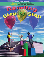 Reading Step by Step Unit 2: Letter Sounds (Lessons 9 and 10)